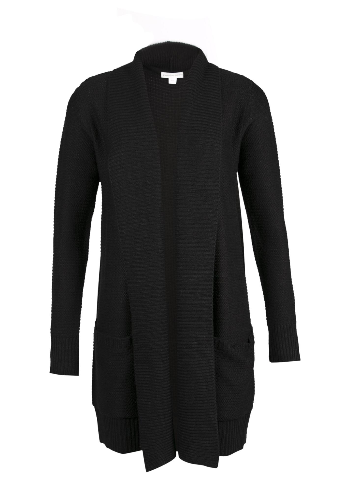 Ladies  Shawl Collar Open Cardigan  a63005a8b