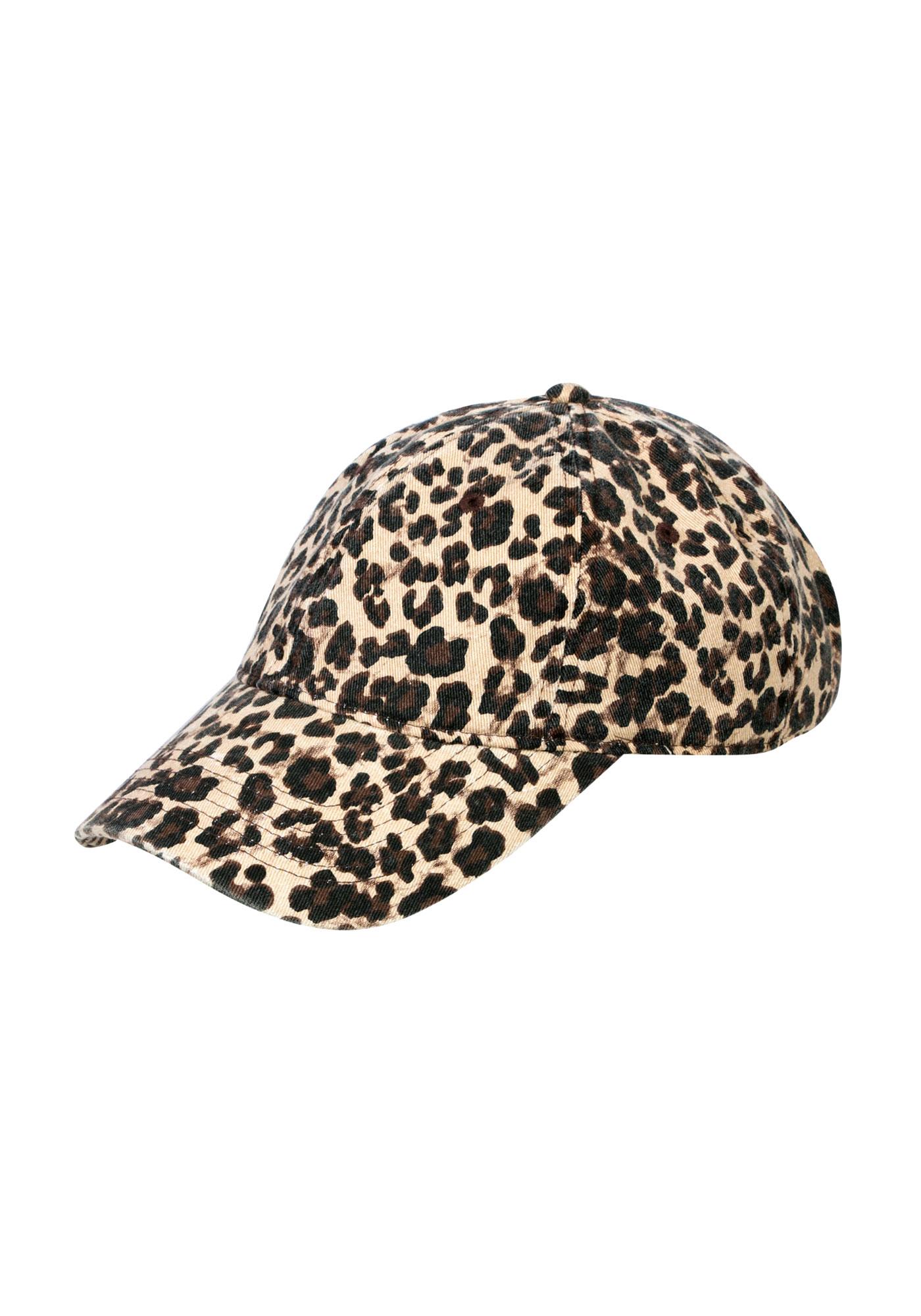 Ladies  Leopard Print Baseball Hat eea2d0c636b