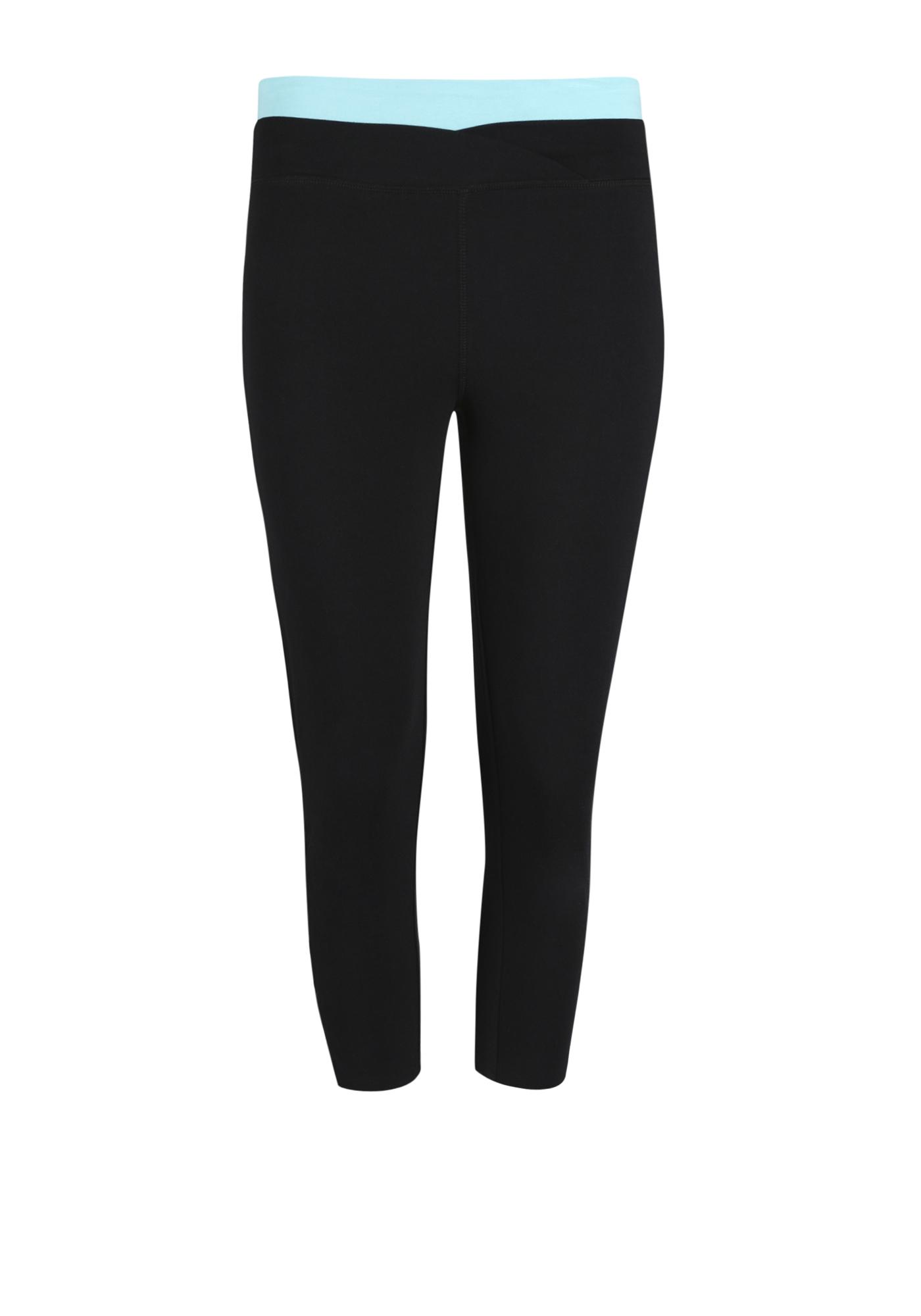 2a16450a20e96 Women's Contrast Capri Legging | Warehouse One