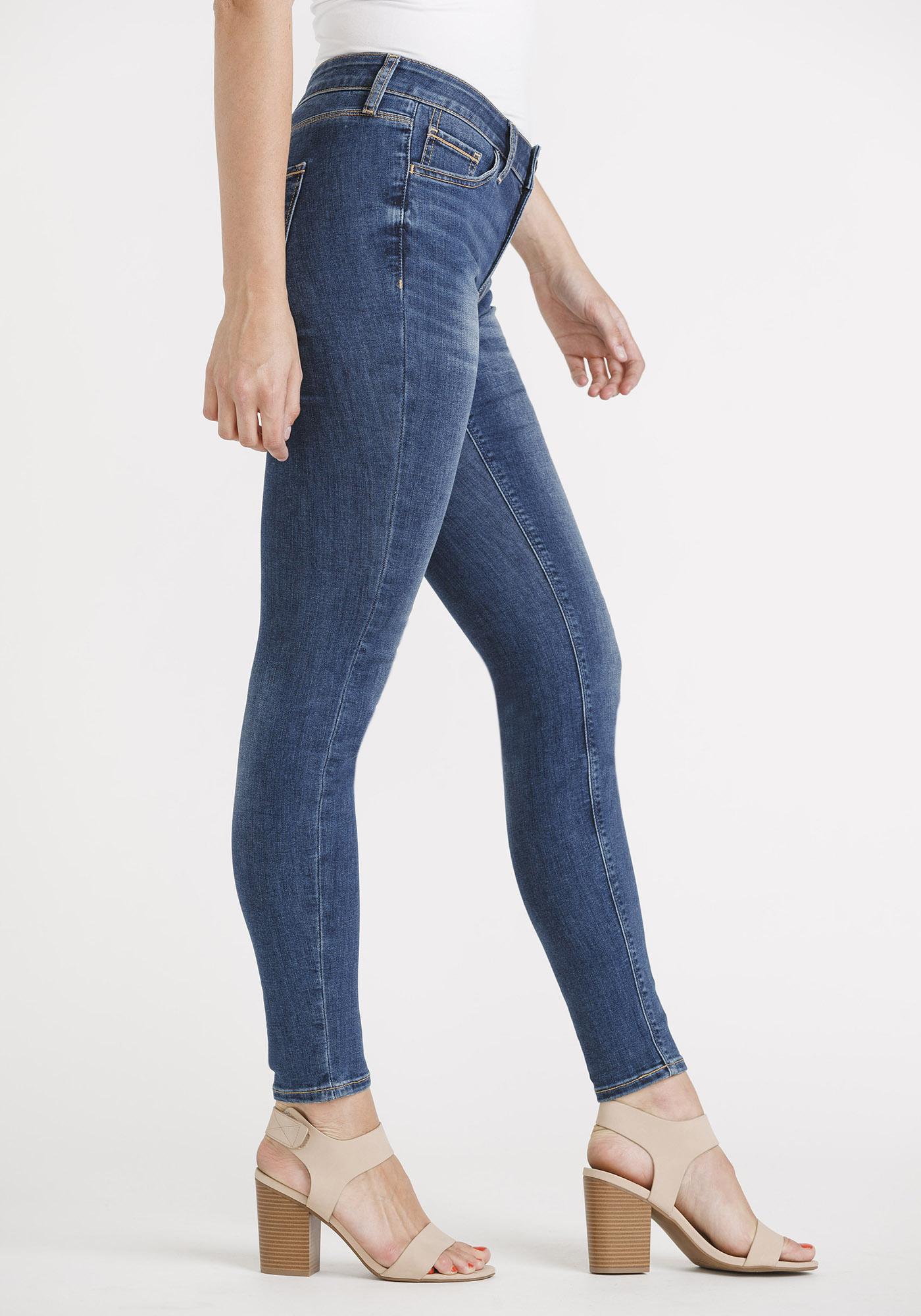 Lyst - Mango Super Slim Jeans in Blue