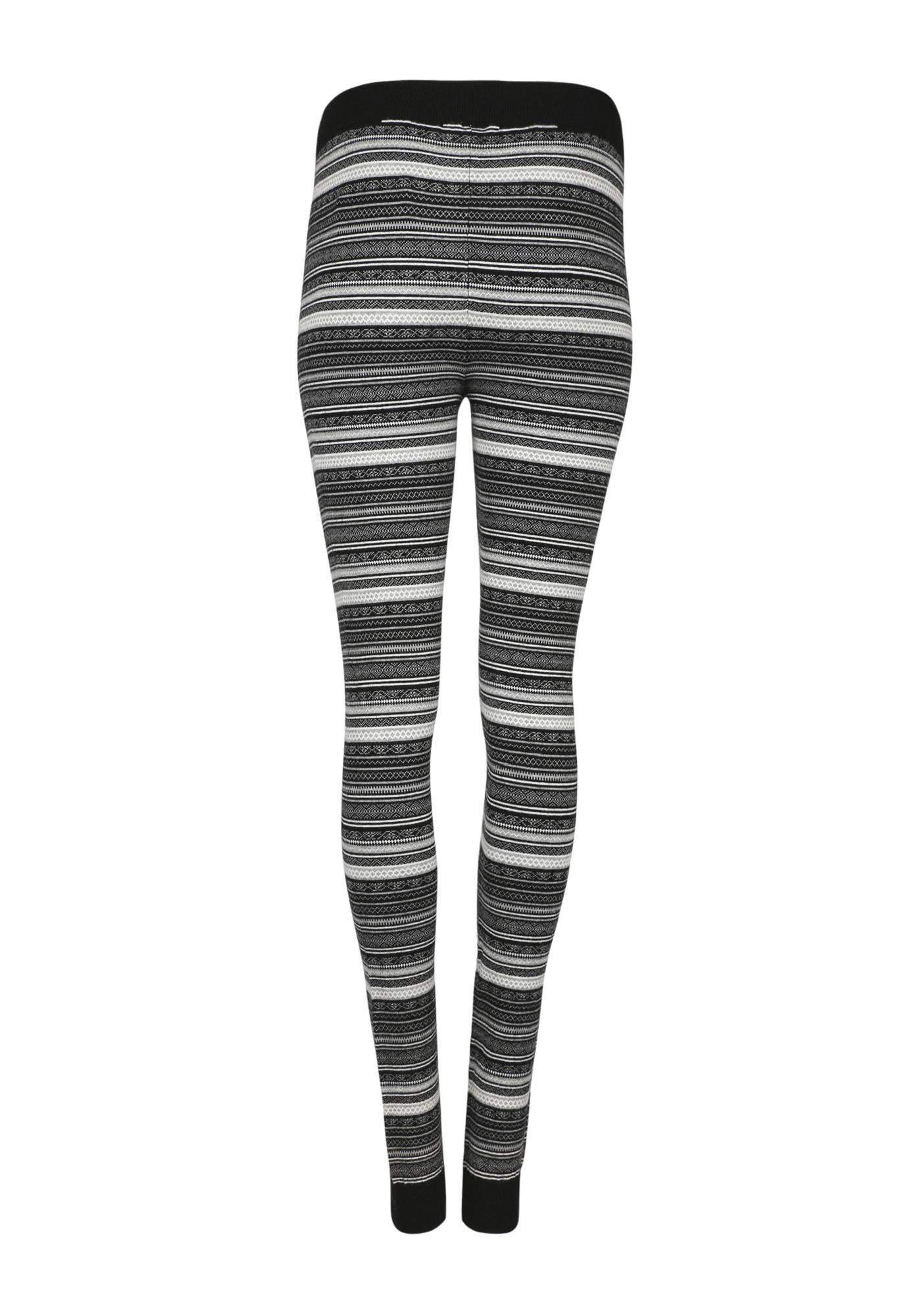 Women's Fair Isle Sweater Legging   Warehouse One