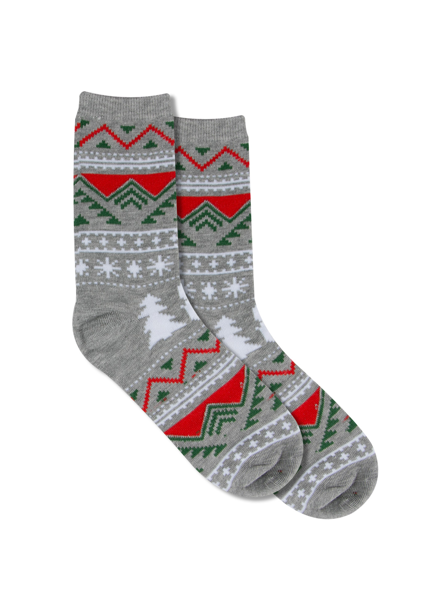 Ladies' Holiday Sweater Ornament Socks, SNOWMAN, hi-res