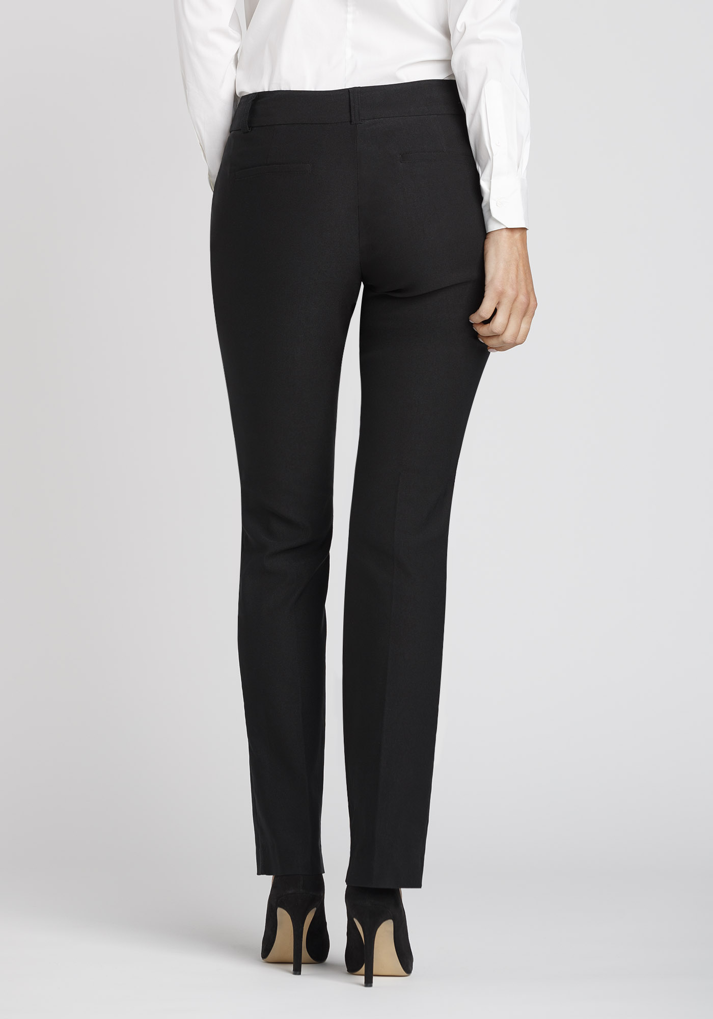 cad1032b39167 Black Straight Dress Pants – DACC