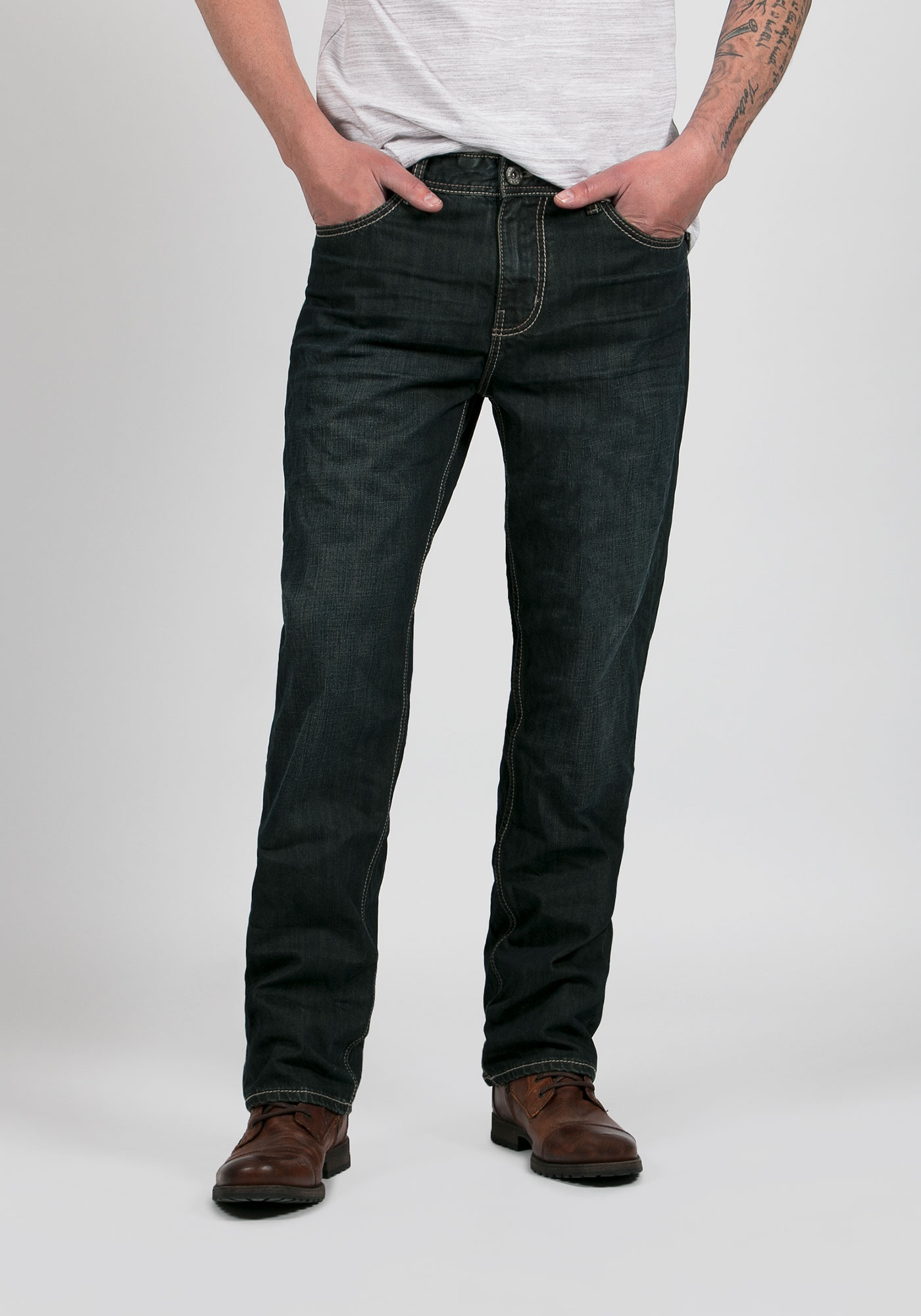 Dark Wash Mens Jeans