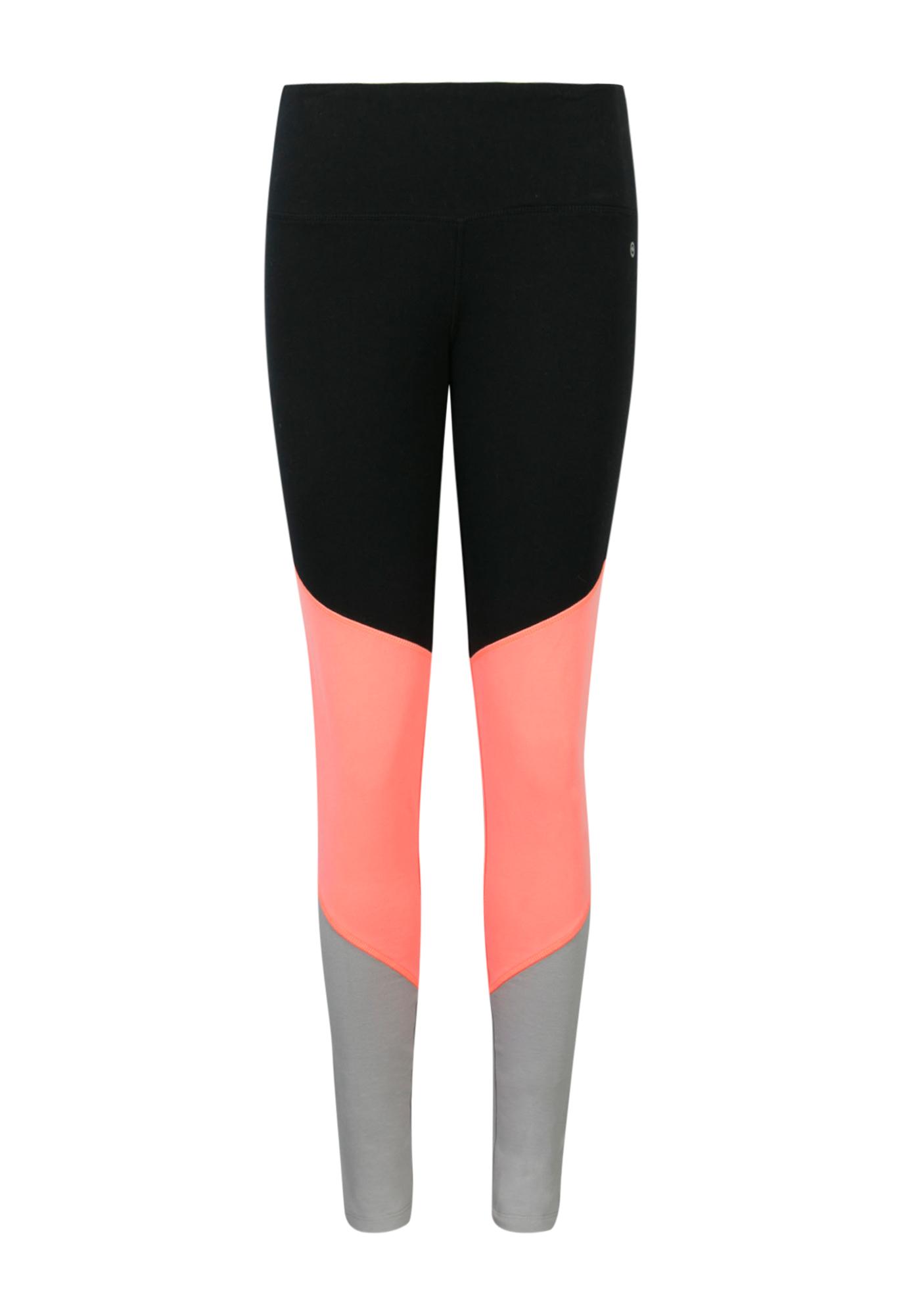 e9b4bc0d7a Ladies Color Block Legging, BLACK, hi-res ...