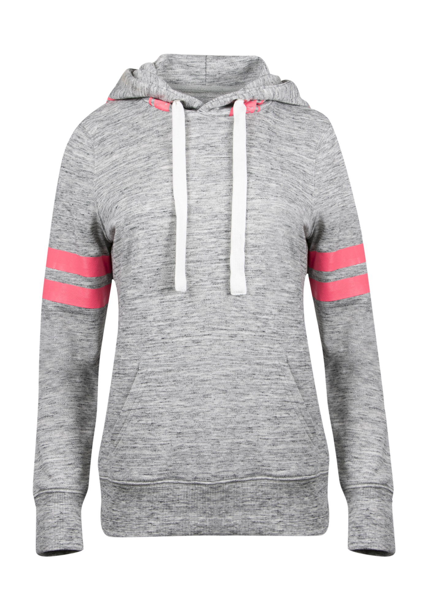 Ladies' Love Football Hoodie, GREY, hi-res