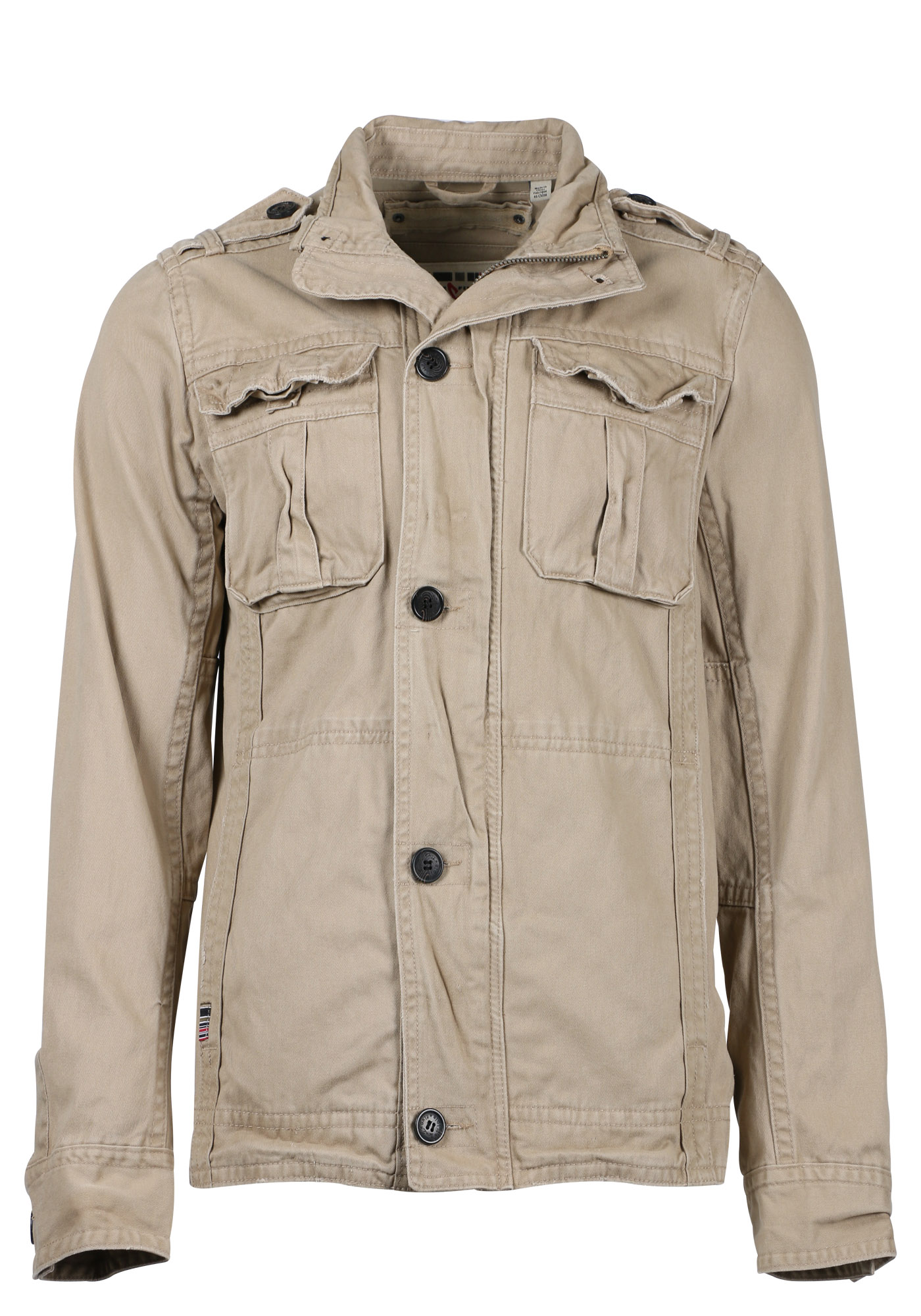 Men's Cargo Jacket, SAND, hi-res