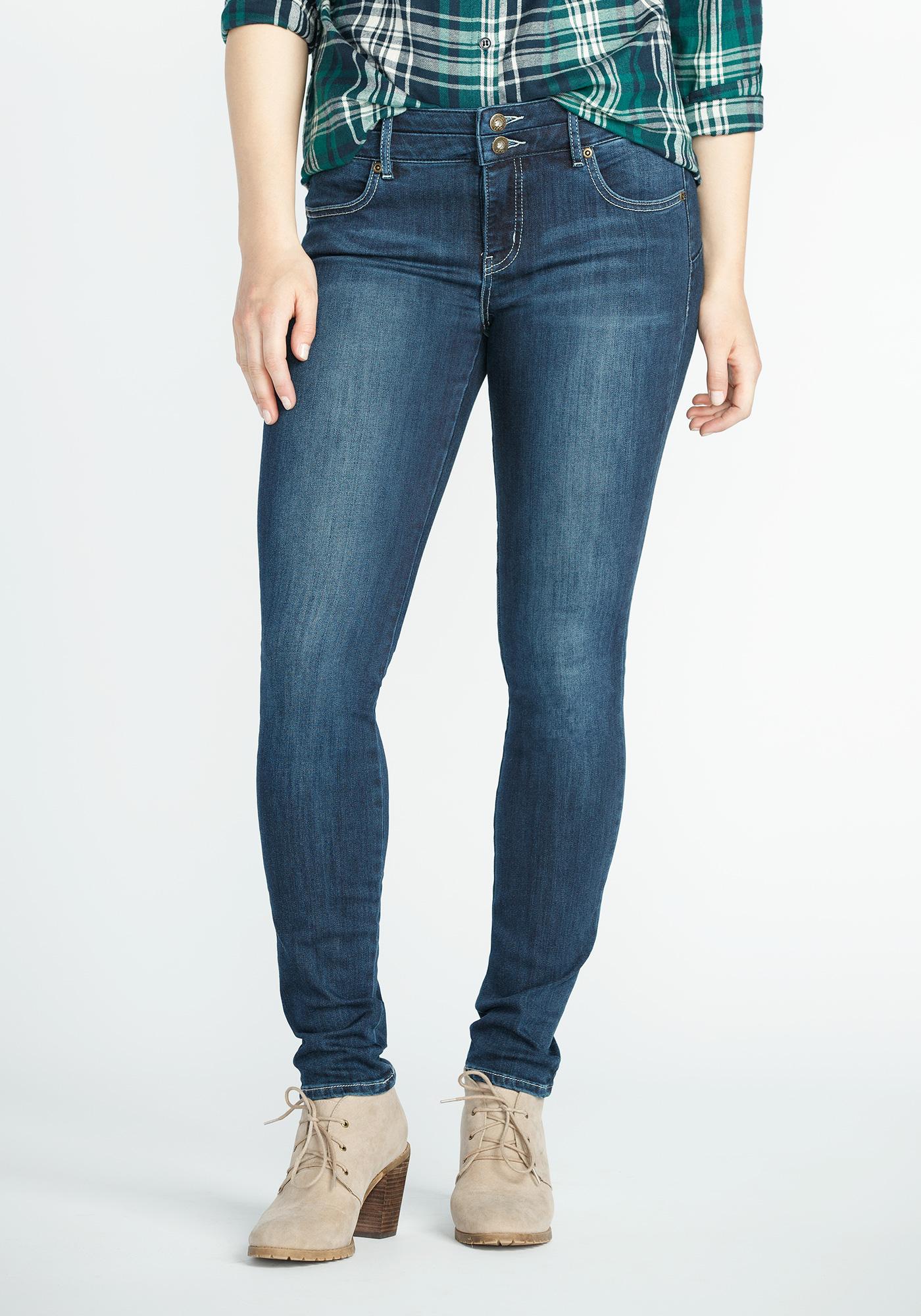Ladies in skinny jeans