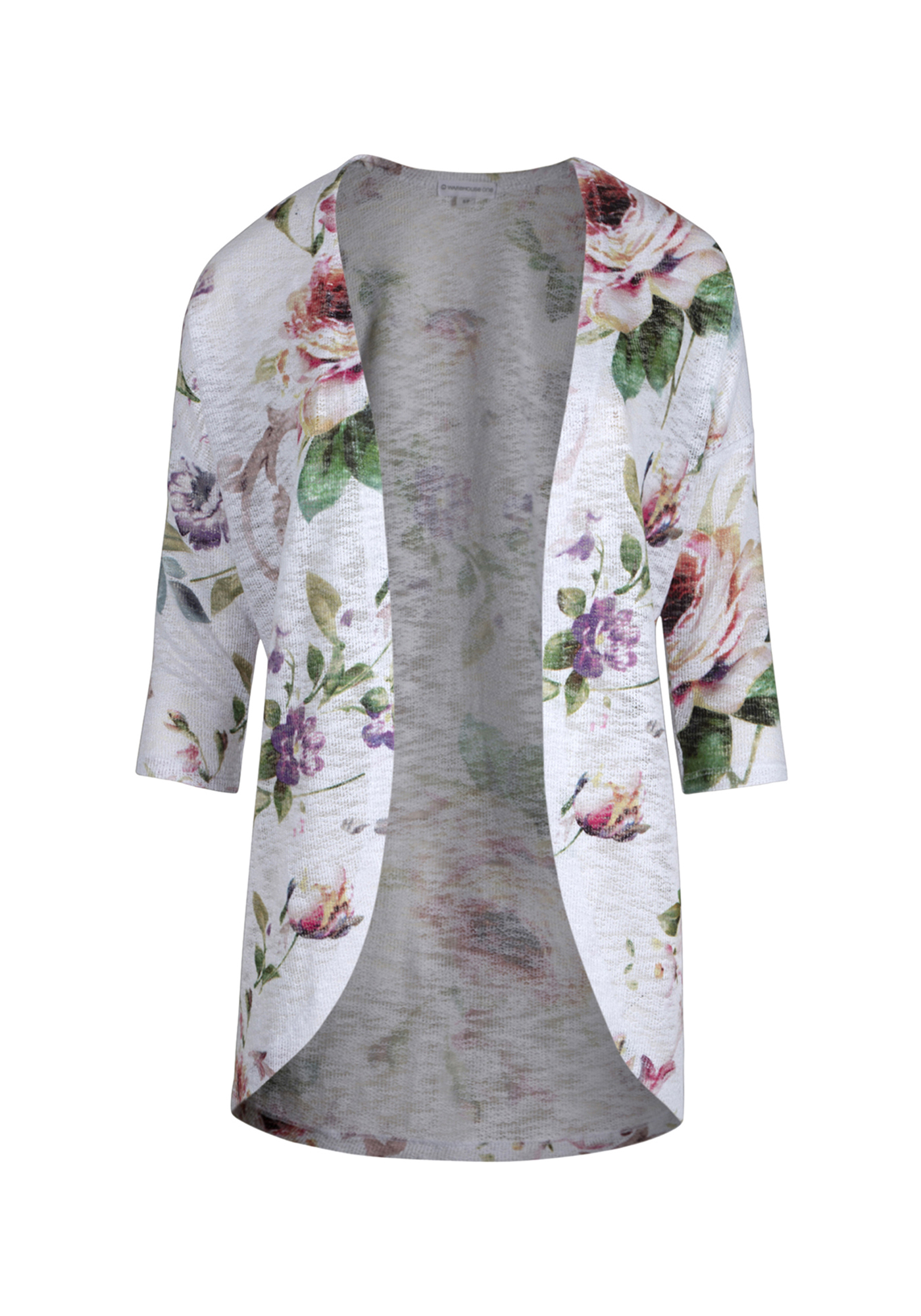 1353596d45 Ladies  Floral Print Cardigan