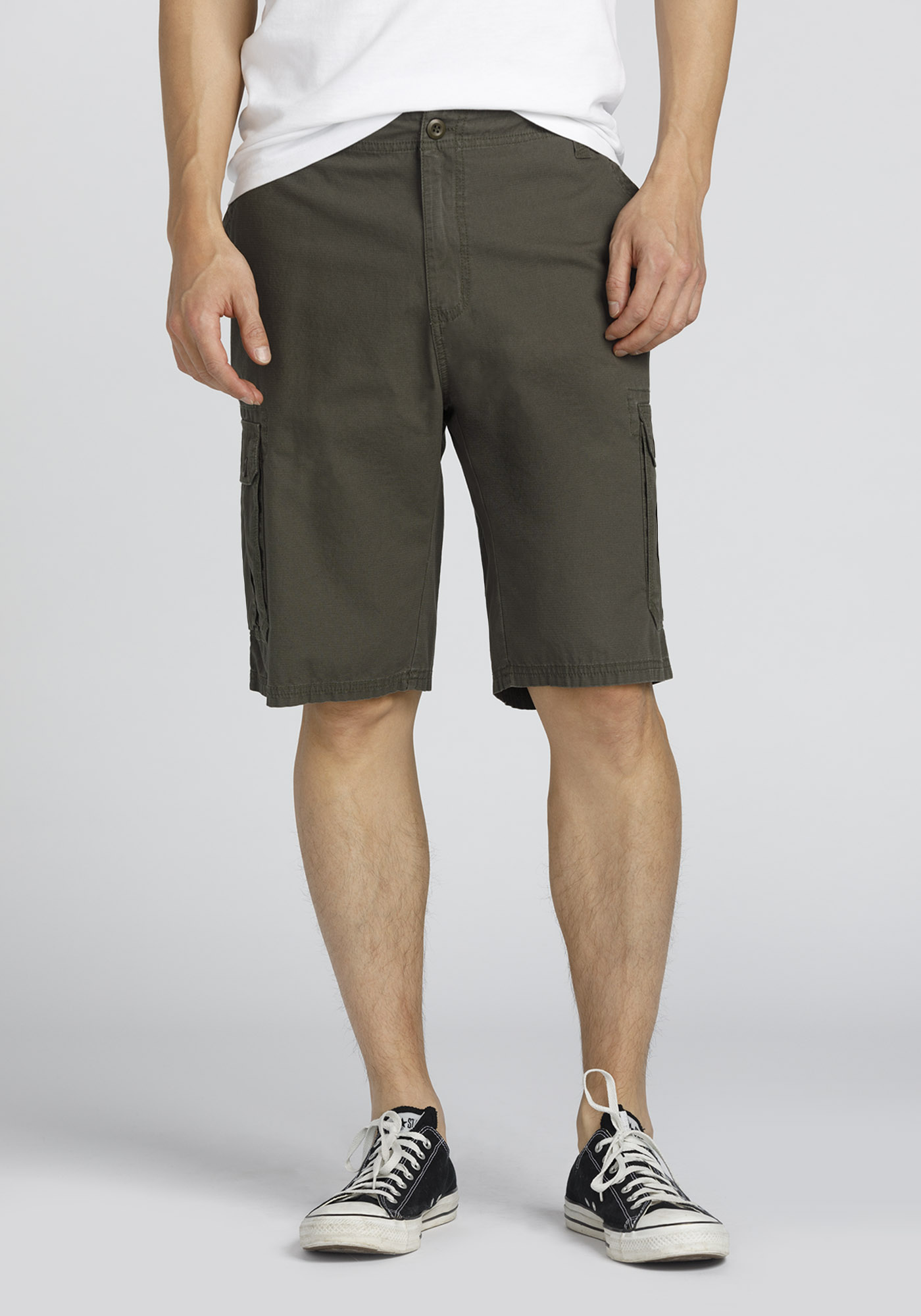 Men's Cargo Short, DARK OLIVE, hi-res
