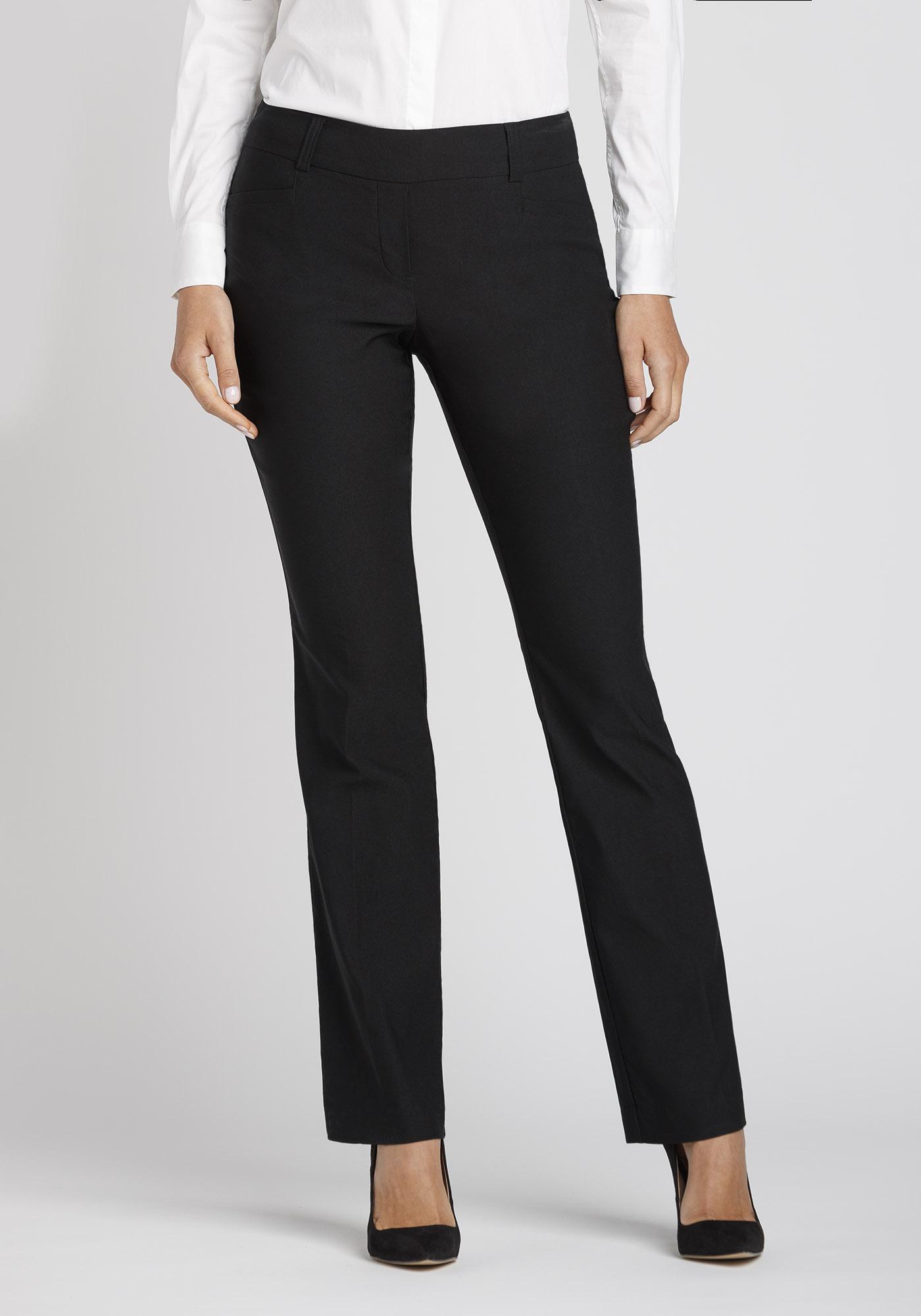 495b19d5dda1 Women s High Rise Straight Dress Pant