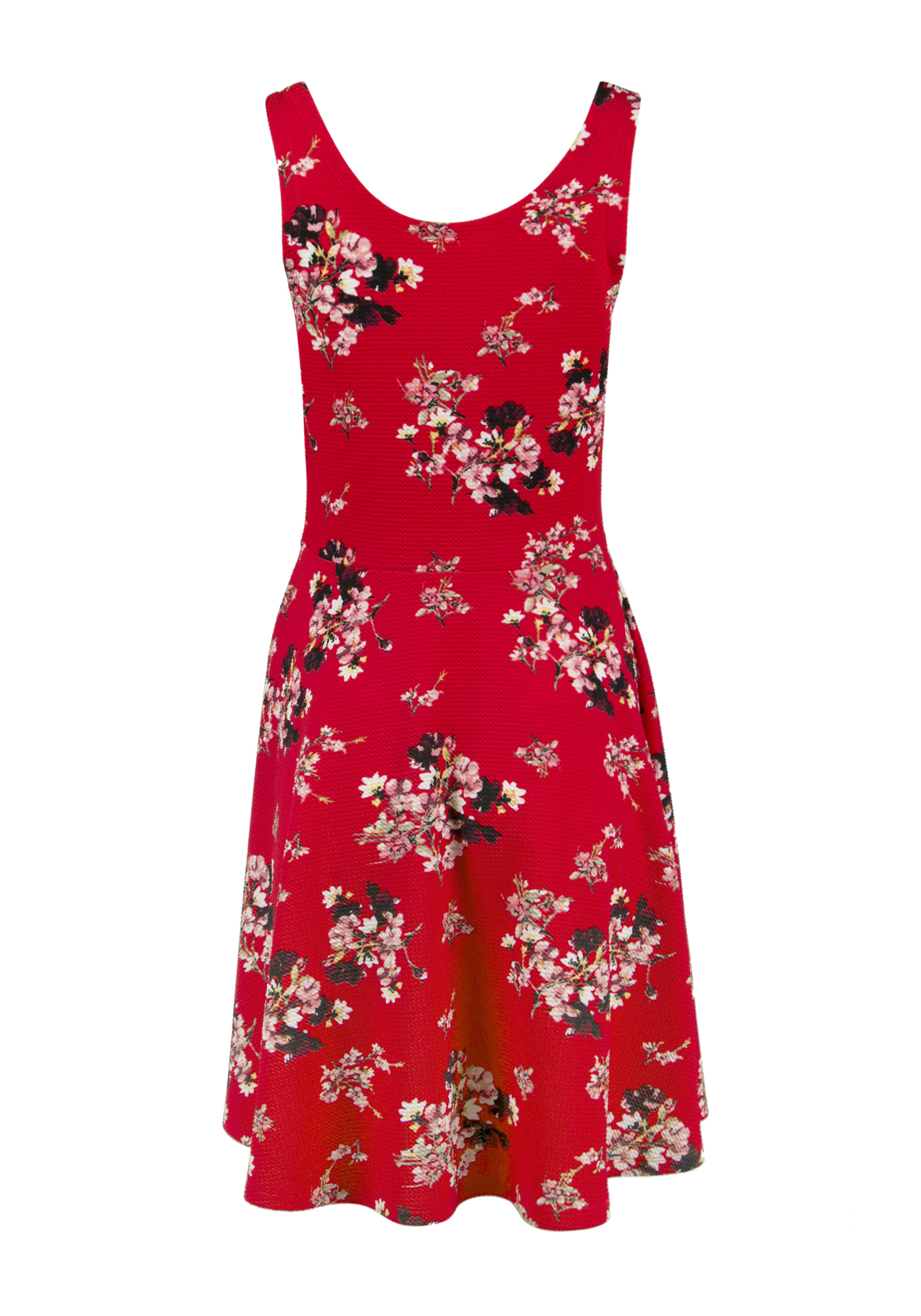 Ladies Floral Fit Amp Flare Dress Warehouse One