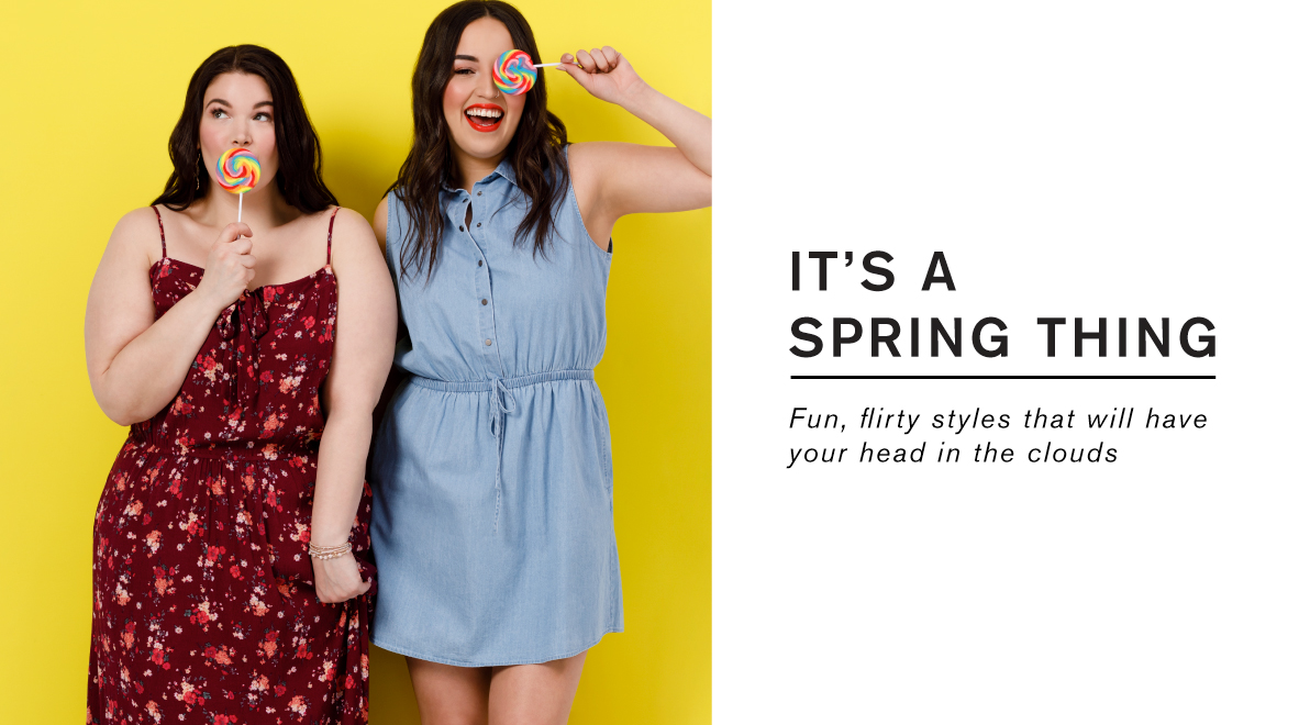 It's a spring thing! Spring dresses lookbook.