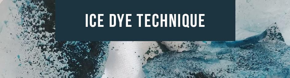 Ice Dye Technique