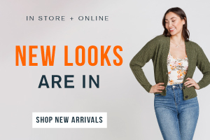 New looks are in. Shop new arrivals.
