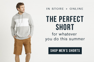 In store and online. The perfect short for whatever you do this summer. Shop men's shorts.