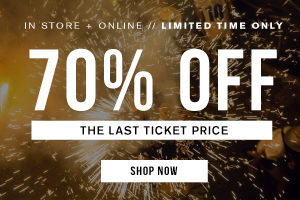 Online. 70 off the last ticket price. Shop Now