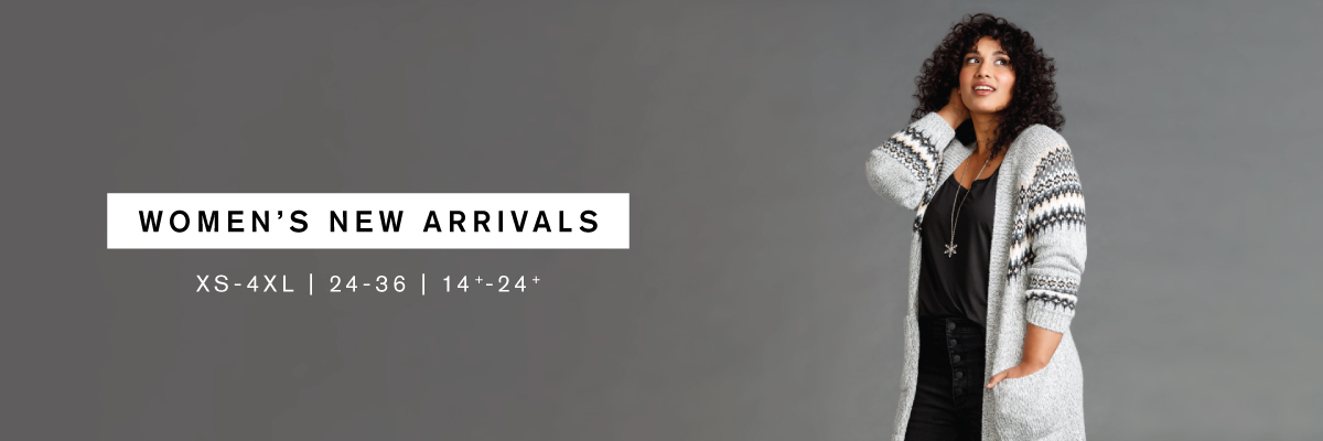 Women's New Arrivals XS-4XL | 24-36 | 14+-24+