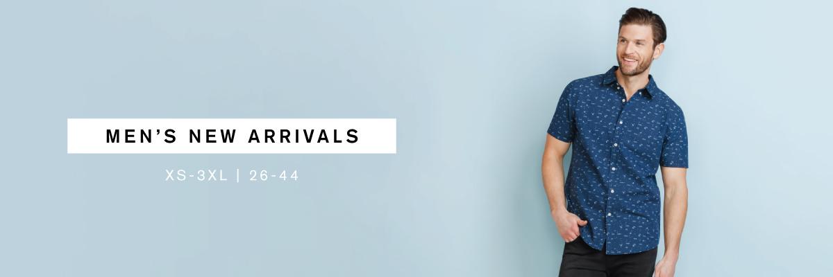 Men's New Arrivals XS-3XL | 26-44