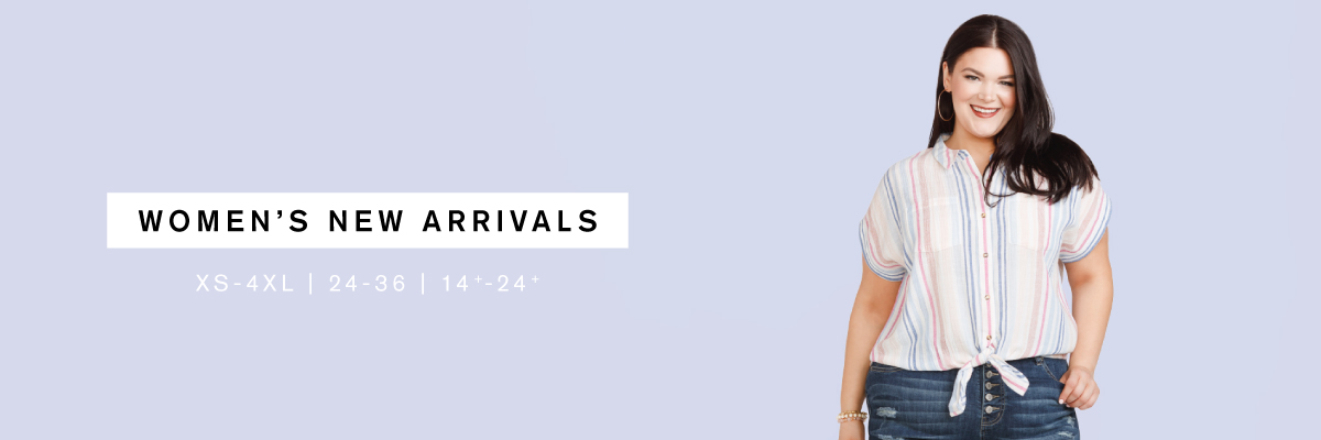 Women's New Arrivals XS-4XL | 24-36 | 14+-24+