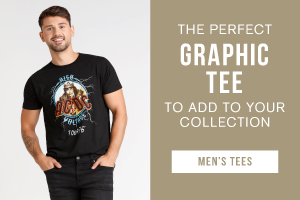 The perfect graphic tee to add to your collection. Shop men's tees.