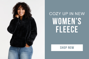 Cozy up in new women's fleece. Shop now.