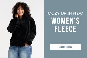 Cozy up in new women's fleece. Shop now.