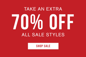 Take an extra 70% off all sale styles. Shop sale.