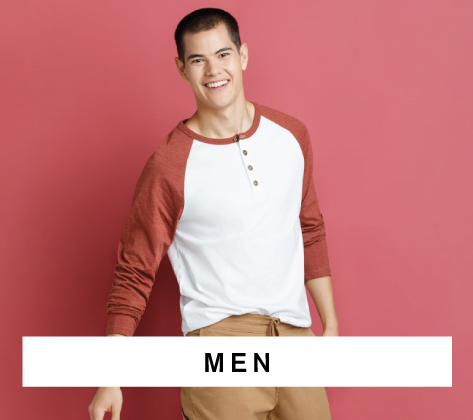 Men XS-3XL | 26-44