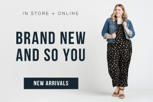 In store + online. Brand new and so you. Shop new arrivals.