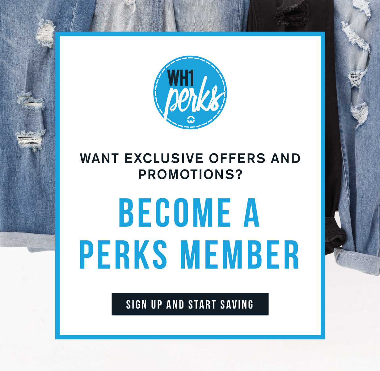 Want exclusive offers and promotions? Become a perks member. Sign up and start saving.