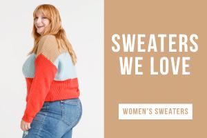 Sweaters we love. Shop women's sweaters.