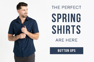 The perfect spring shirts are here. Shop button ups.