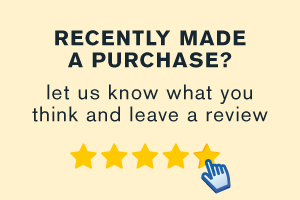 Recently made a purchase? Let us know what you think and leave a review.