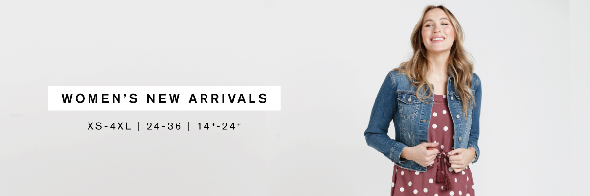 Women's New Arrivals XS-4XL   24-36   14+-24+