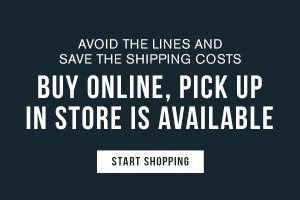 Avoid the lines and save on shipping costs. Buy online, pick up in store is now available. Start shopping.
