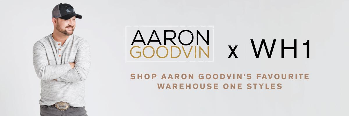 Aaron Goodvin X Warehouse One. Shop Aaron Goodvin's favourite Warehouse One styles.