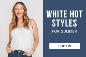 White hot styles for summer. Shop now.