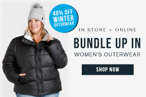 IN STORE + ONLINE - BUNDLE UP IN - WOMEN'S OUTERWEAR - SHOP NOW