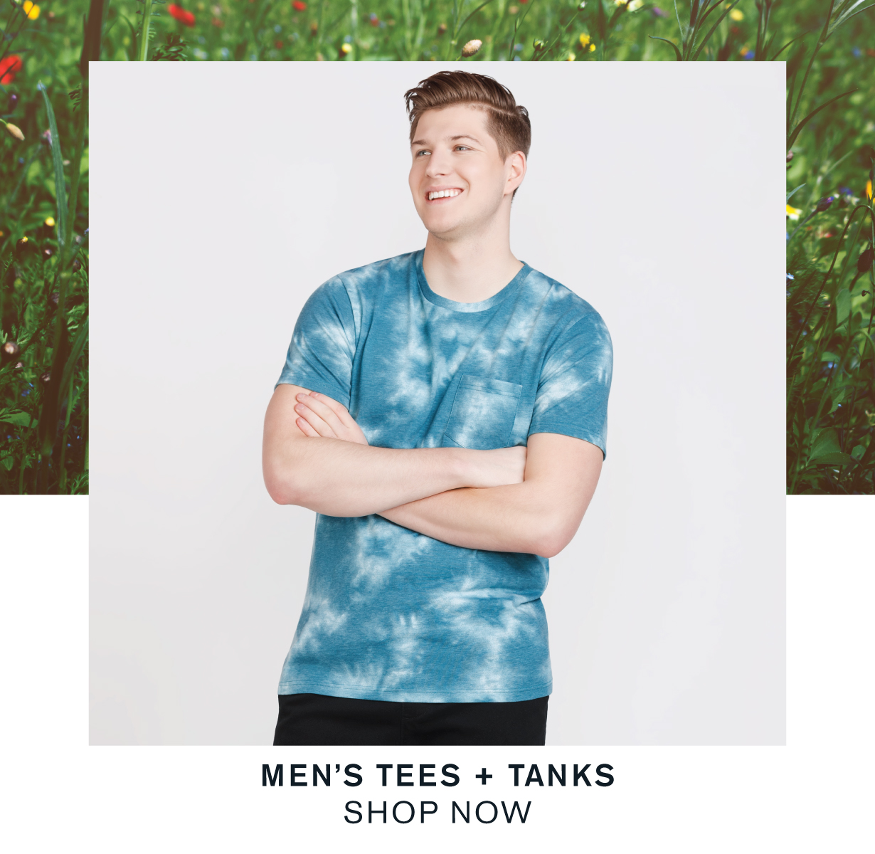 Men's tees and tanks