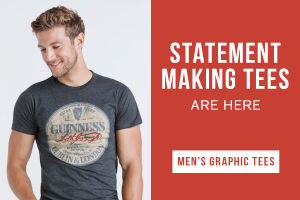 Statement making tees are here. Shop men's graphic tees.