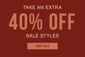 Take an extra 40% off sale styles. Shop sale.