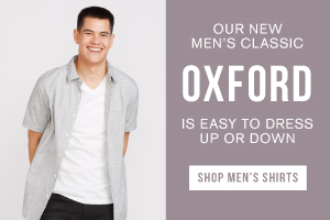 Our new men's classic oxford is easy to dress up or down. Shop men's shirts.
