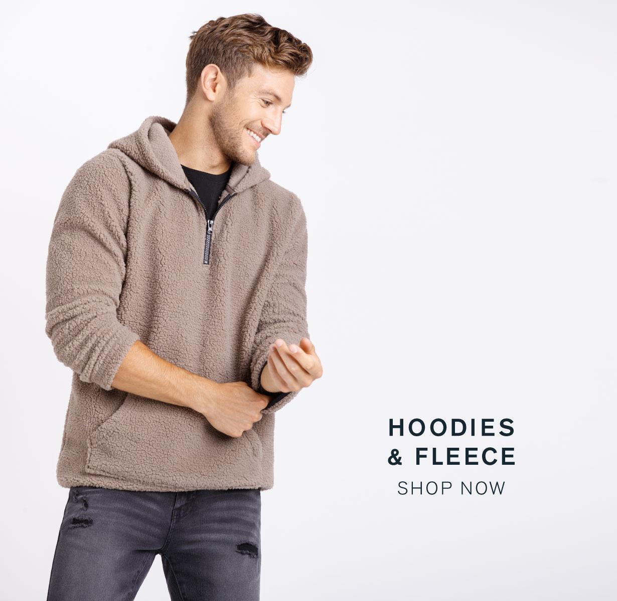 Men's Hoodies and Fleece
