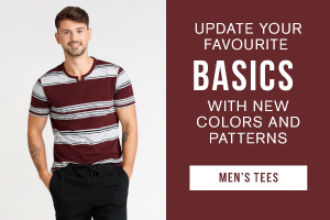 Update your favourite basics with new colors and patterns. Shop men's tees.