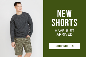New shorts have just arrived. Shop shorts.