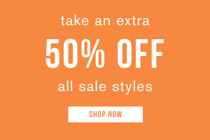 Take an extra 50% off all sale styles. Shop now.